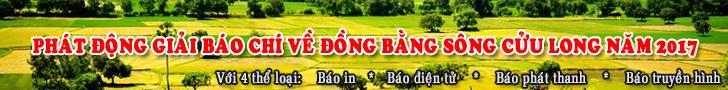 Phát động Giải Báo chí về Đồng bằng sông Cửu Long năm 2017