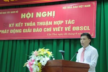 Phát động Giải báo chí viết về Đồng bằng sông Cửu Long