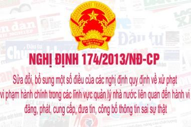 Nghị định 174/2013/NĐ-CP