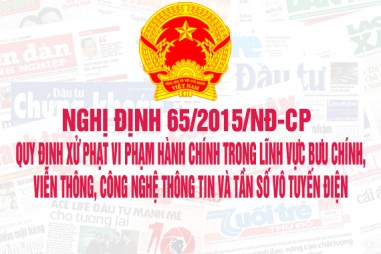 Nghị định 65/2015/NĐ-CP