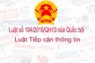 Luật số 104/2016/QH13 của Quốc hội