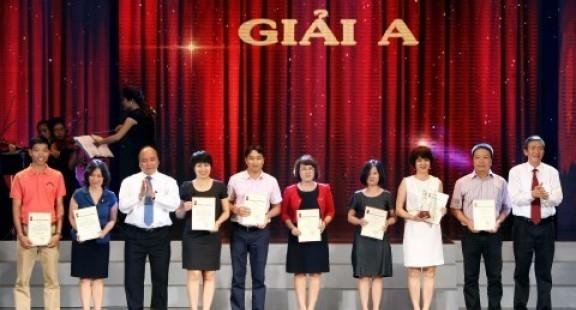 Danh sách các tác phẩm đoạt giải báo chí quốc gia 2013
