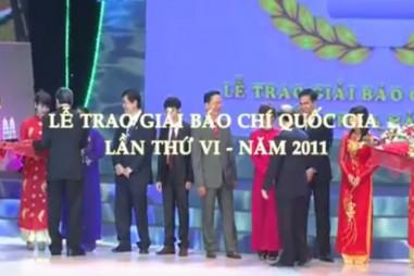 Giải Báo chí Quốc gia lần 6 - Năm 2011