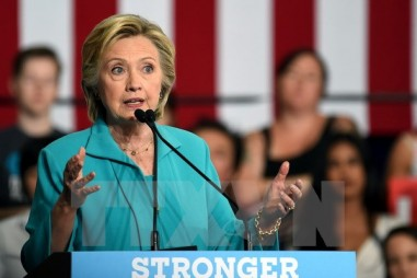 Tỷ lệ ủng hộ bà Hillary Clinton giảm sâu chưa từng thấy