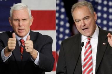 Hai ứng viên phó tổng thống Mỹ tranh luận bảo vệ ông Trump và bà Clinton