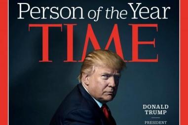 """Donald Trump được bình chọn là """"Nhân vật của năm"""""""
