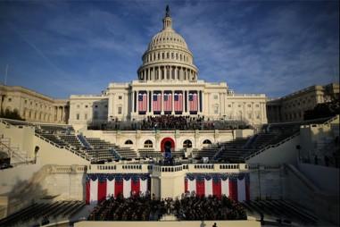 Những hình ảnh về lễ nhậm chức của ông Donald Trump