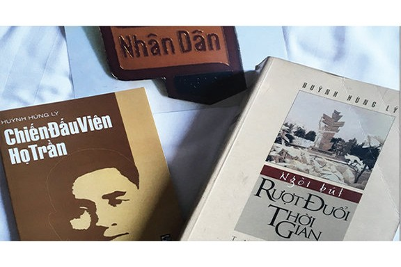 Những kỷ vật báo chí của nhà báo Huỳnh Hùng Lý