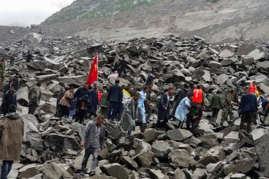 Lở đất tại Trung Quốc: Đã tìm kiếm được 15 thi thể nạn nhân