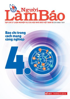 Tạp chí Người Làm Báo - số 411 (5/2018)
