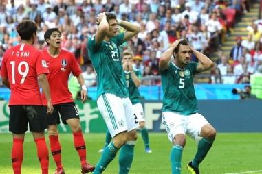 Đương kim vô địch Đức rời World Cup 2018