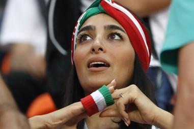 Lộ diện vẻ đẹp của fan nữ đội tuyển Iran tại World Cup 2018
