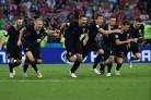 Croatia thắng Nga bằng loạt đá luân lưu, gặp Anh ở bán kết
