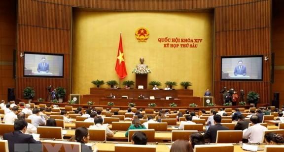 Tuần làm việc thứ tư: Quốc hội thảo luận 6 dự án Luật