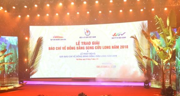 Cảm xúc về giải báo chí về Đồng bằng sông Cửu Long năm 2018