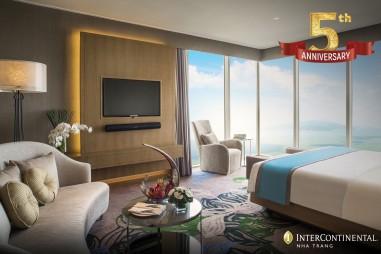 Nhiều ưu đãi nhân kỉ niệm 5 năm thành lập Intercontinental Nha Trang
