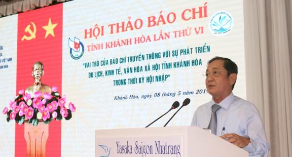 Vai trò của báo chí truyền thông với sự phát triển du lịch tỉnh Khánh Hòa