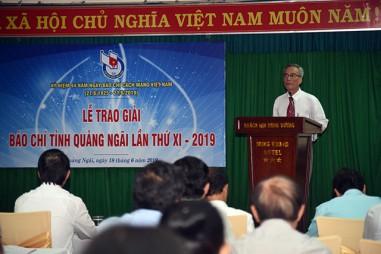 Quảng Ngãi: Trao giải báo chí lần thứ XI - 2019