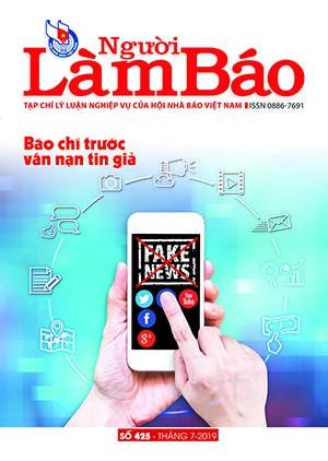 Tạp chí Người Làm Báo - số 425 (7/2019)