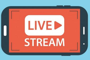 Ứng dụng livestream của Facebook trên fanpage báo điện tử