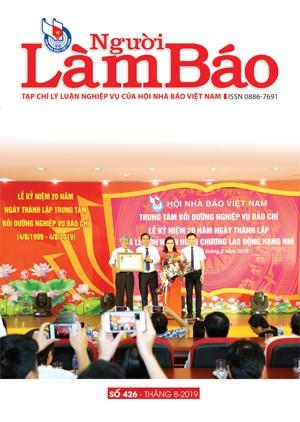 Tạp chí Người Làm Báo - số 426 (8/2019)