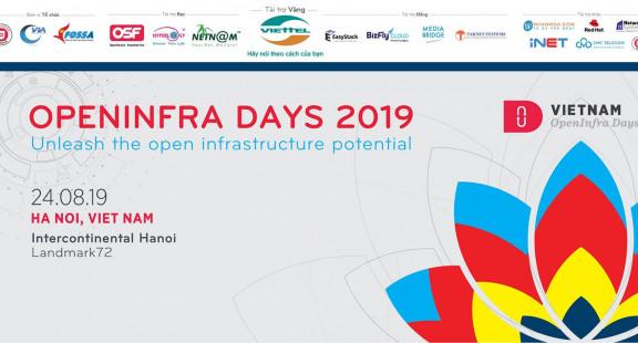 VIETNAM OPENINFRA DAYS 2019: Khai phá tiềm năng hạ tầng mở