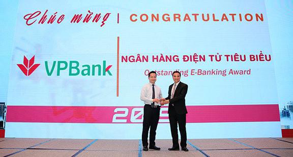 VPBank - Ngân hàng điện tử tiêu biểu năm 2019