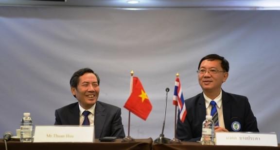 Tăng cường trao đổi đoàn các cấp giữa Hội Nhà báo Việt Nam và Liên đoàn Báo chí Thái Lan