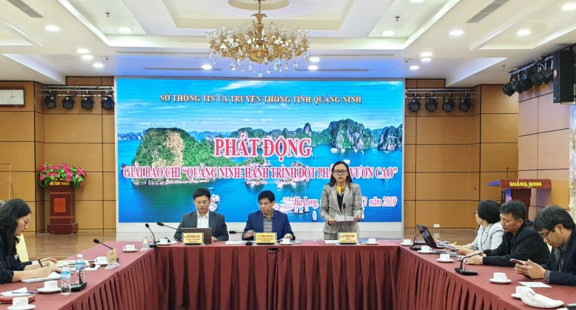 """Phát động giải báo chí """"Quảng Ninh: Hành trình đột phá và vươn cao"""""""