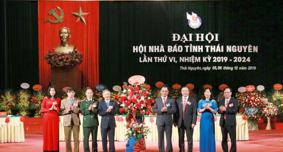 Đại hội Hội Nhà báo tỉnh Thái Nguyên lần thứ VI nhiệm kỳ 2019-2024