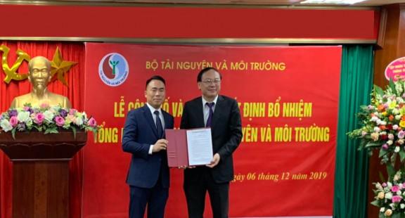 Nhà báo Đào Xuân Hưng giữ chức Tổng biên tập Tạp chí Tài nguyên và Môi trường
