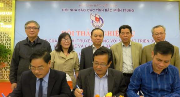 Báo chí với sự phát triển du lịch khu vực Bắc miền Trung