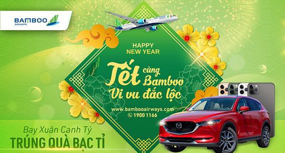 Cơ hội trúng xe sang khi bay cùng Bamboo Airways dịp Tết