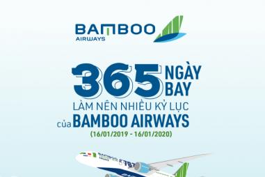 365 ngày bay với nhiều kỷ lục của Bamboo Airways