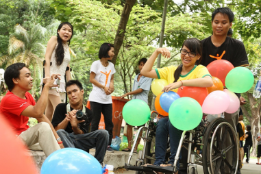 Quản lý thông điệp về người khuyết tật trên tạp chí