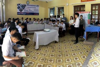 Tư vấn hướng nghiệp, phân luồng cho học sinh tại Yên Bái