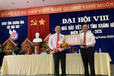 Đại hội Hội Nhà báo tỉnh Khánh Hòa khóa VIII - nhiệm kỳ 2020-2025