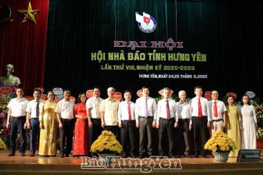 Đại hội Hội Nhà báo tỉnh Hưng Yên lần thứ VIII nhiệm kỳ  2020-2025