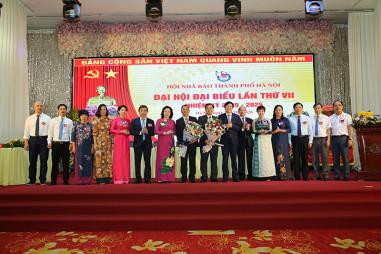 Ông Tô Quang Phán tái cử Chủ tịch Hội Nhà báo TP Hà Nội, nhiệm kỳ 2020 – 2025