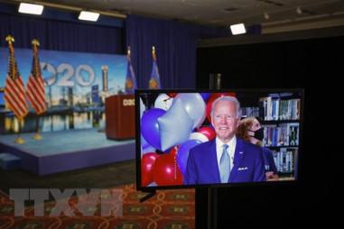 Bầu cử Mỹ 2020: Ông Biden dẫn trước Tổng thống Trump tại 4 bang chiến địa
