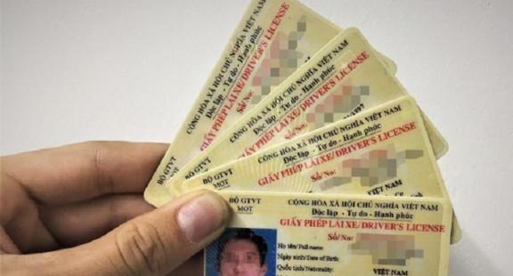 Giấy phép lái xe được cấp 12 điểm/năm