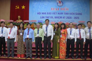 Đại hội Hội Nhà báo tỉnh Kiên Giang nhiệm kỳ 2020-2025