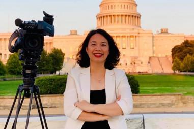 Những chuyến tác nghiệp khó quên trên đất Mỹ của nữ nhà báo TTXVN
