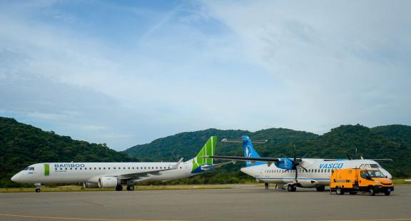 Trải nghiệm dịch vụ Thương gia trên đường bay Côn Đảo