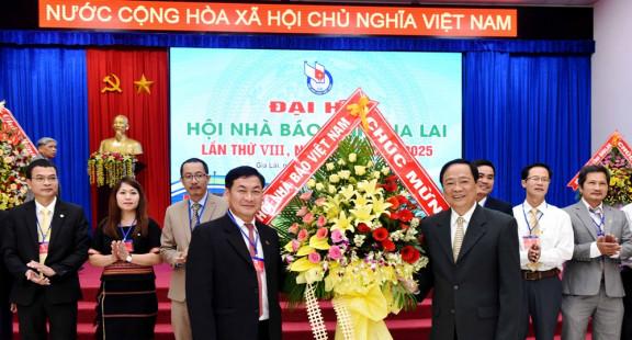 Đại hội Hội Nhà báo tỉnh Gia Lai lần thứ VIII