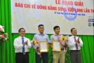 Trao Giải báo chí về Đồng bằng sông Cửu Long năm 2020