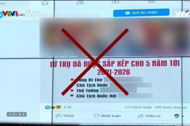Ngăn chặn thông tin xấu độc về Đại hội XIII