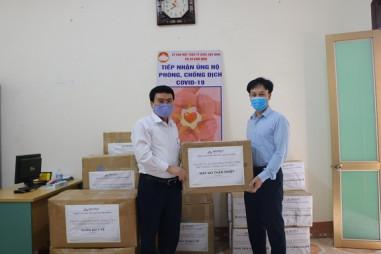 Hòa Phát ủng hộ tỉnh Hải Dương 3 tỷ đồng phòng chống dịch Covid-19