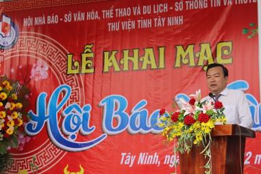 Tây Ninh khai mạc Hội Báo Xuân Tân Sửu 2021