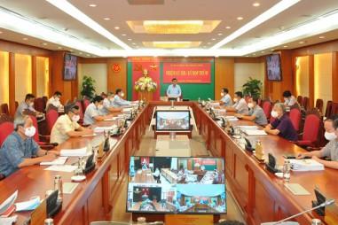 Thông cáo báo chí Kỳ họp thứ năm của Ủy ban Kiểm tra Trung ương khóa XIII